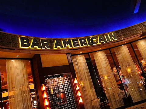 bar americain at mohegan sun fun and flay vorfull. Black Bedroom Furniture Sets. Home Design Ideas