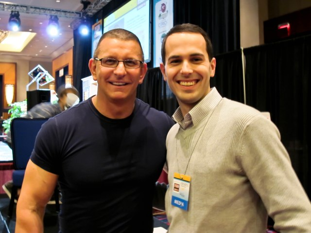 Nick of Front Row Eats with Robert Irvine