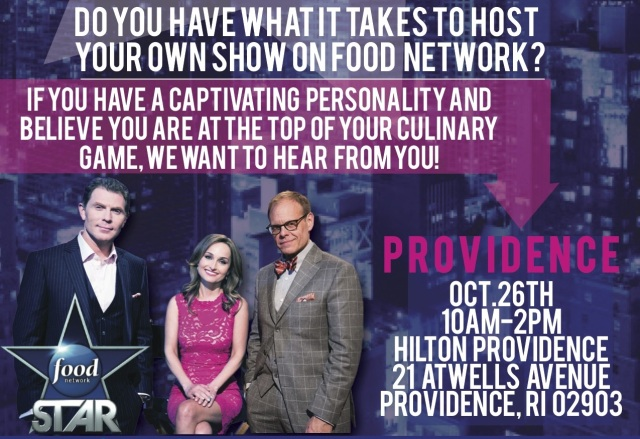 food network star auditions providence
