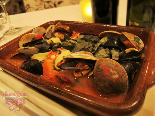 """Zuppa ai frutti di mare"" is another exclusive dish from the secret menu"