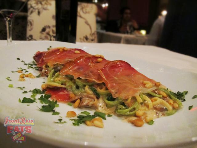 """""""Involtino di Speck Paglia & Fieno"""" - Yup, you guessed it. Found on the secret menu."""